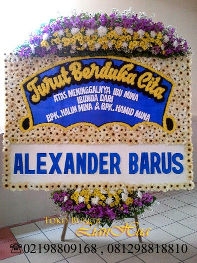 Toko bunga dekat rumah duka, bunga papan duka cita, bunga standing, bunga salib, bunga ucapan untuk orang meninggal,