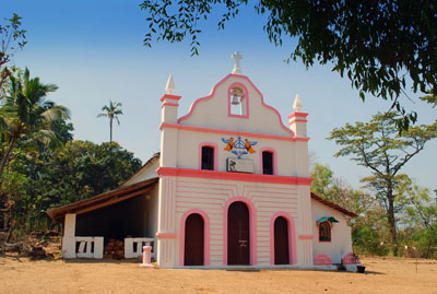 Cabo De Rama Fort Church