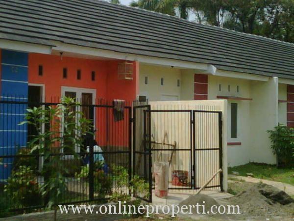 rumah dijual jual rumah baru tipe 36 di perumahan alam