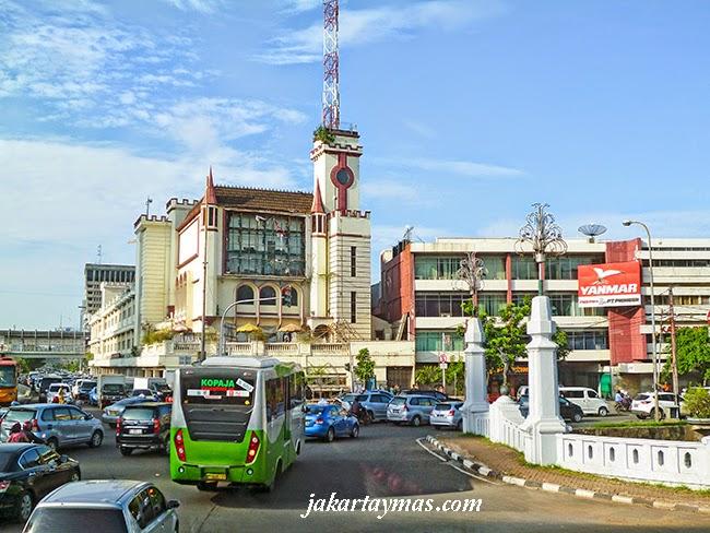 Kota, en el centro de Yakarta