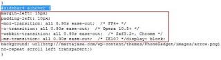 link+nudging+area Efek CSS mempercantik link di sidebar