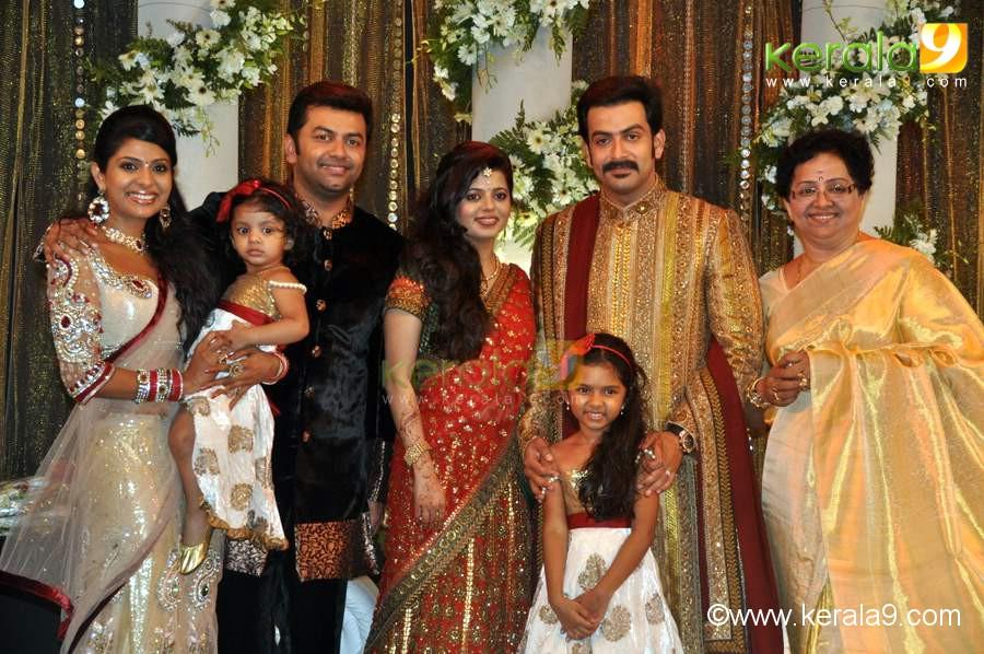 Prithviraj Wedding Reception Shadi Pictures