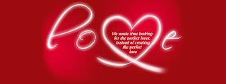 ảnh bìa facebook hình trái tim đỏ