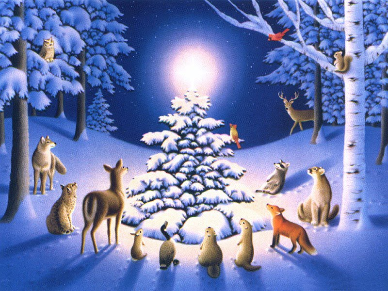 Christmas winter desktop wallpapers for Natale immagini per desktop