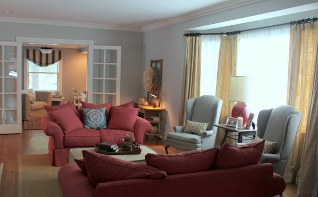 Sherwin williams giveaway to celebrate 6 months favorite - Benjamin moore stonington gray living room ...