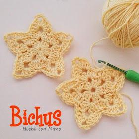 Patron Gratis Estrella de Crochet