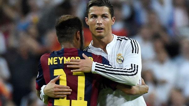 Cristiano Ronaldo podría tener celos de Neymar Jr