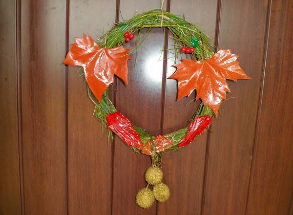 Adornos naturales de navidad aprender manualidades es for Cosas artesanales para navidad
