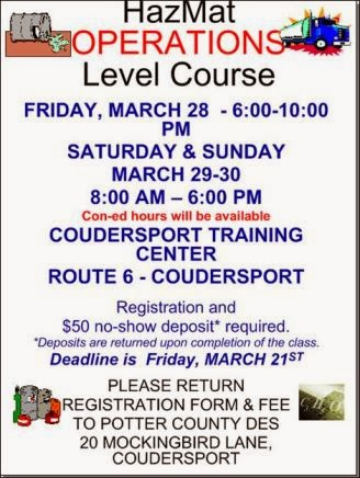 3-21 Hazmat Level Course