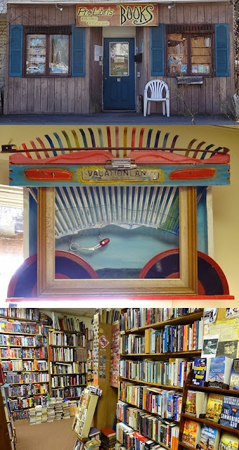 Pro Libris Books,used books,Bangor,Maine,Art by Wally Warren