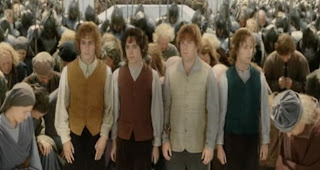 lord of the rings, return king, hobbits