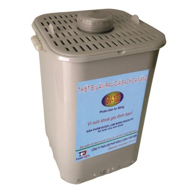 thiết bị làm rau giá sạch đa năng GV 102
