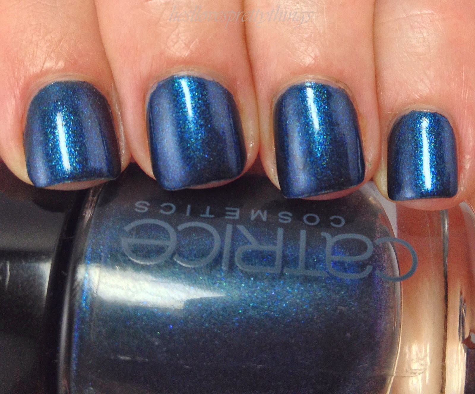 Catrice George Blueney swatch