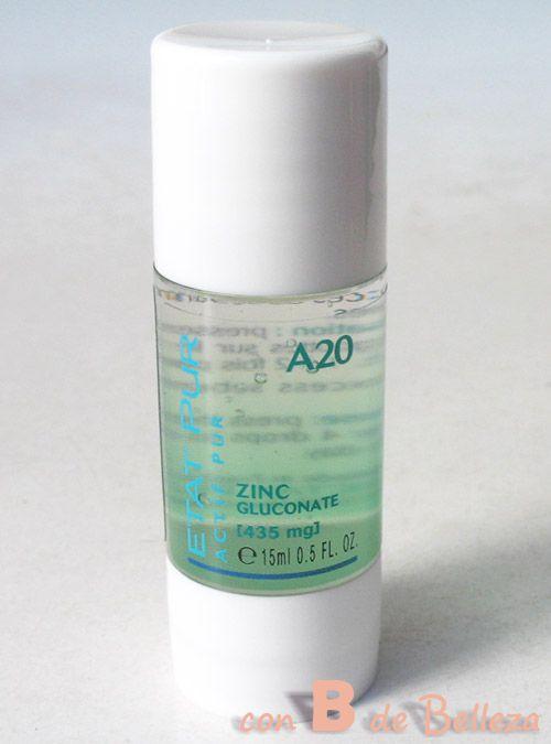 Etat pur Gluconato zinc y ácido salicílico