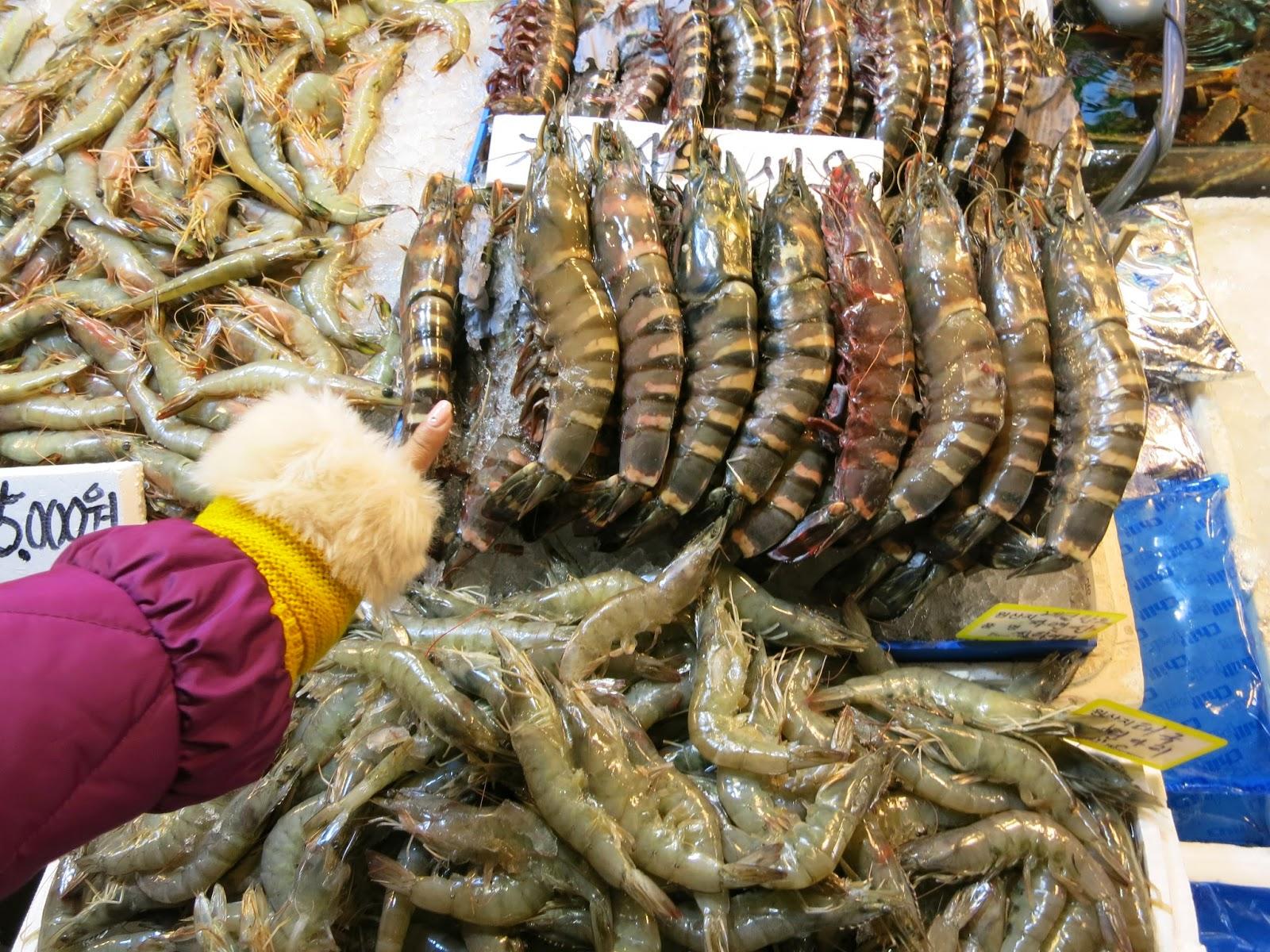 Noryangjin Fish Market - Seoul