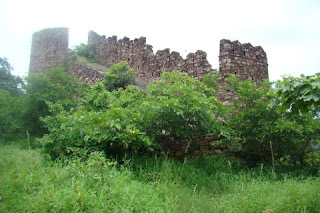 Fatehburj at Hinglaj Fort in Mandsaur district in Madhya Pradesh, India