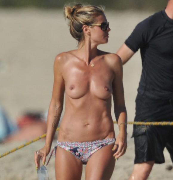 Heidi Klum nue - Starlooz