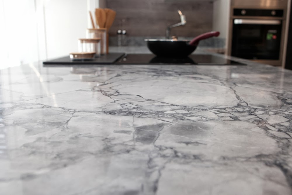 Kuher encimeras de cocina en zaragoza silestone compac mod portobello granito - Granito para encimeras ...