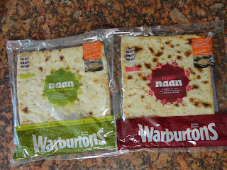 Warburtons Square Naan Breads