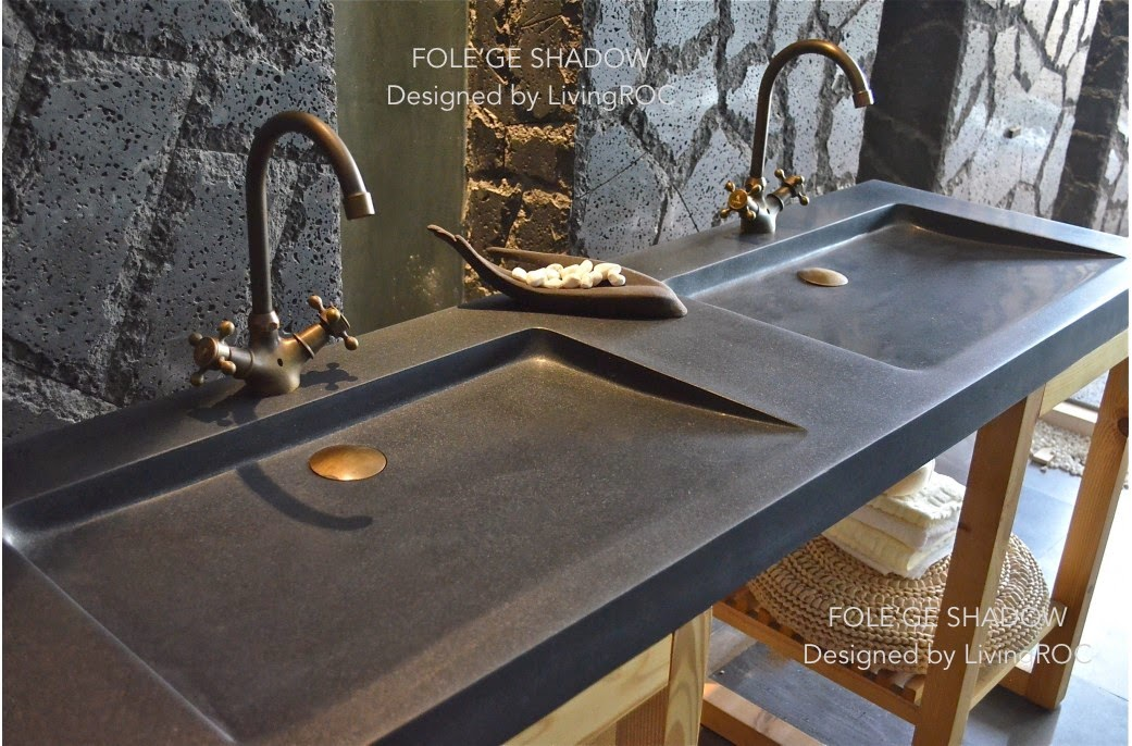 Stone Usa Sinks : LivingRoc USA-The Blog: NATURAL STONE TROUGH SINKS!