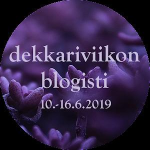 Dekkariviikko 10. - 16.6.2019