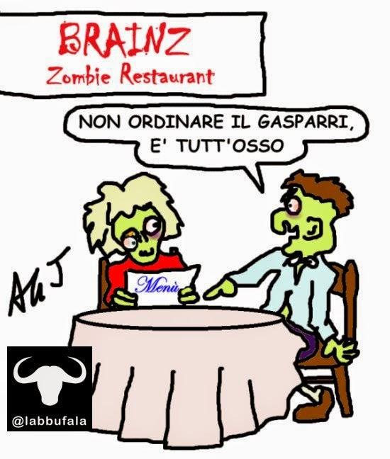 Gasparri, zombie