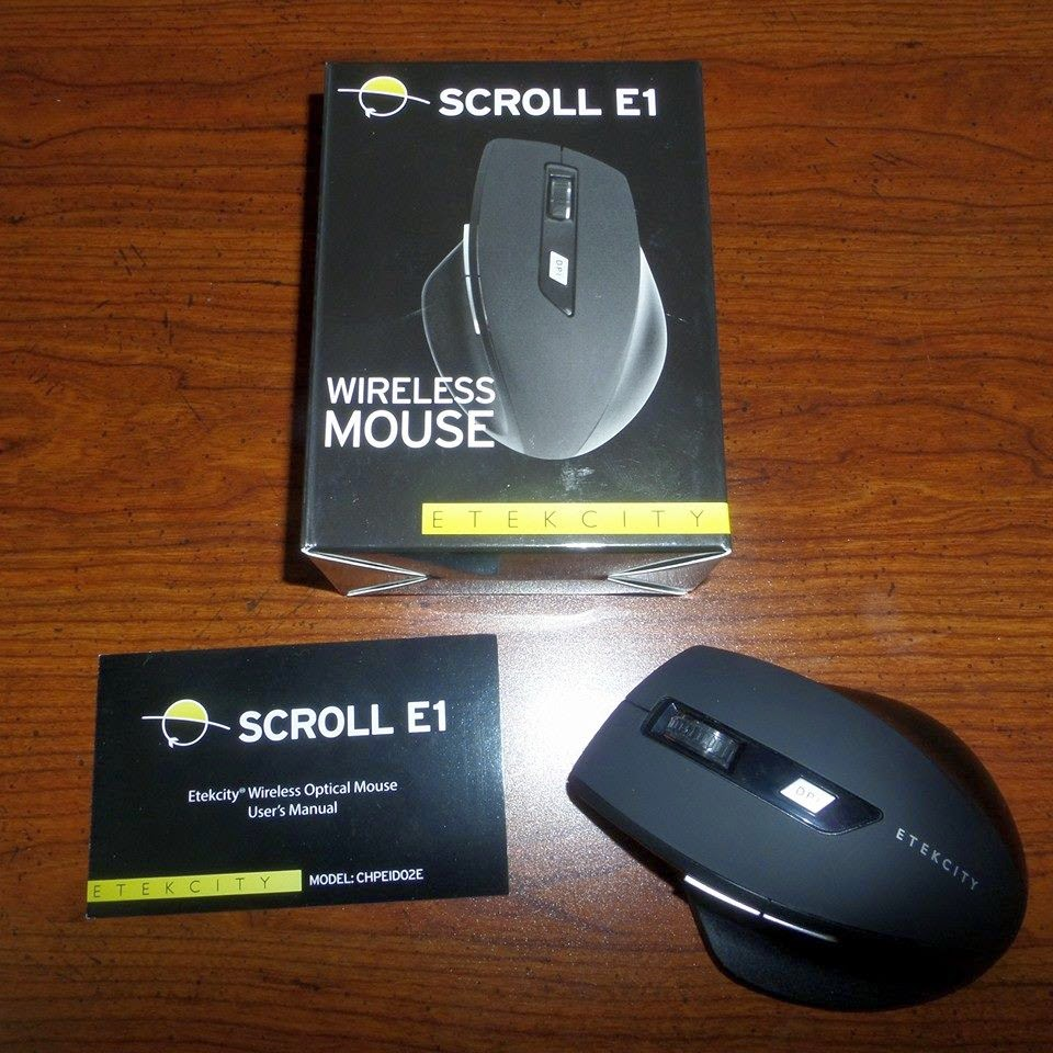 Etekcity Scroll E1 Wireless Mouse