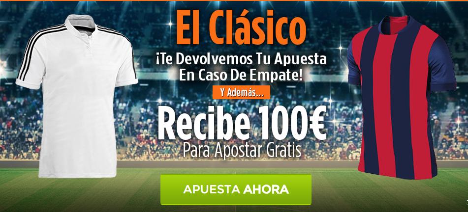 promoción apuestas 888sports real madrid vs barcelona