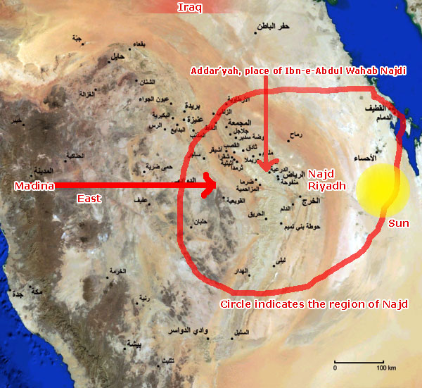 Where Is Actually Najd Located?