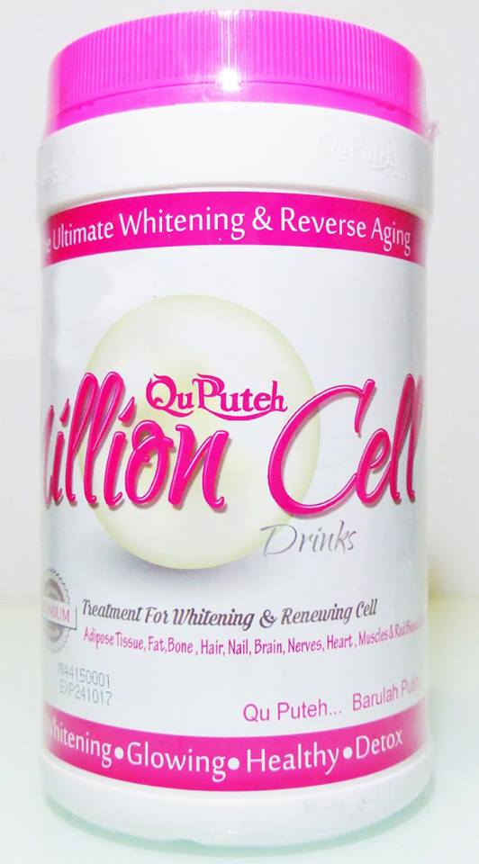 kelebihan dan khasiat qu puteh million cell, testimoni million cell qu puteh, qu puteh stem cell, million cell vida beauty, qu puteh coffee stem cell, ku putih dato vida