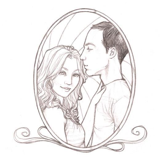 Penny + Sheldon por renisanz