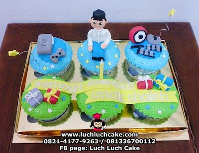 Cupcake Khitan Daerah Surabaya - Sidoarjo