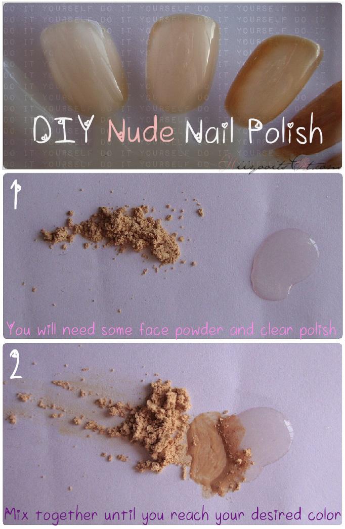 NOTD: Tribal on Nude & DIY Nude Nail Polish (3 ways) | Hiiyooitscat ...