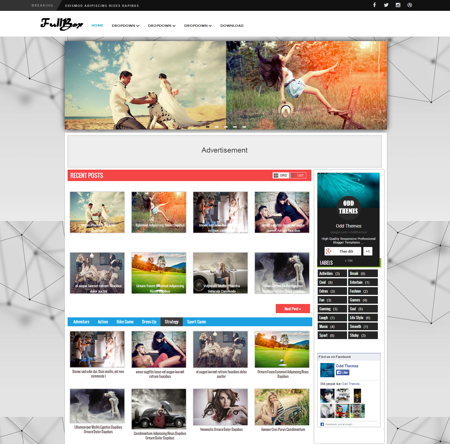Share FullBox Multipurpose Blogger Template