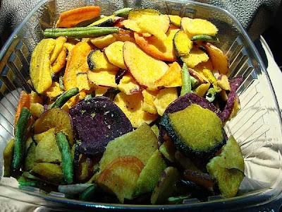 Cómo secar algunas hortalizas y setas