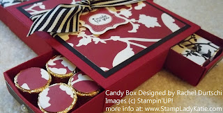 Hostess Gift made with the Big Shot Matchbox Die