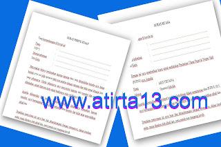 Unduh Surat Kuasa dan Surat Pernyatan untuk Entry Data PUPNS