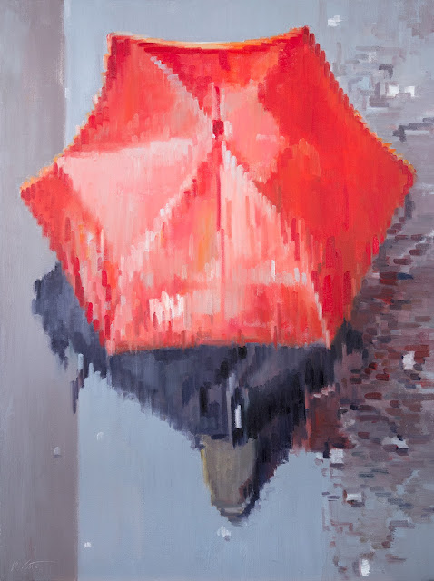 http://www.ebay.com/itm/Red-Umbrella-Moving-in-Paris-large-Impressionism-painting-Figures-Portraits-/121585304156