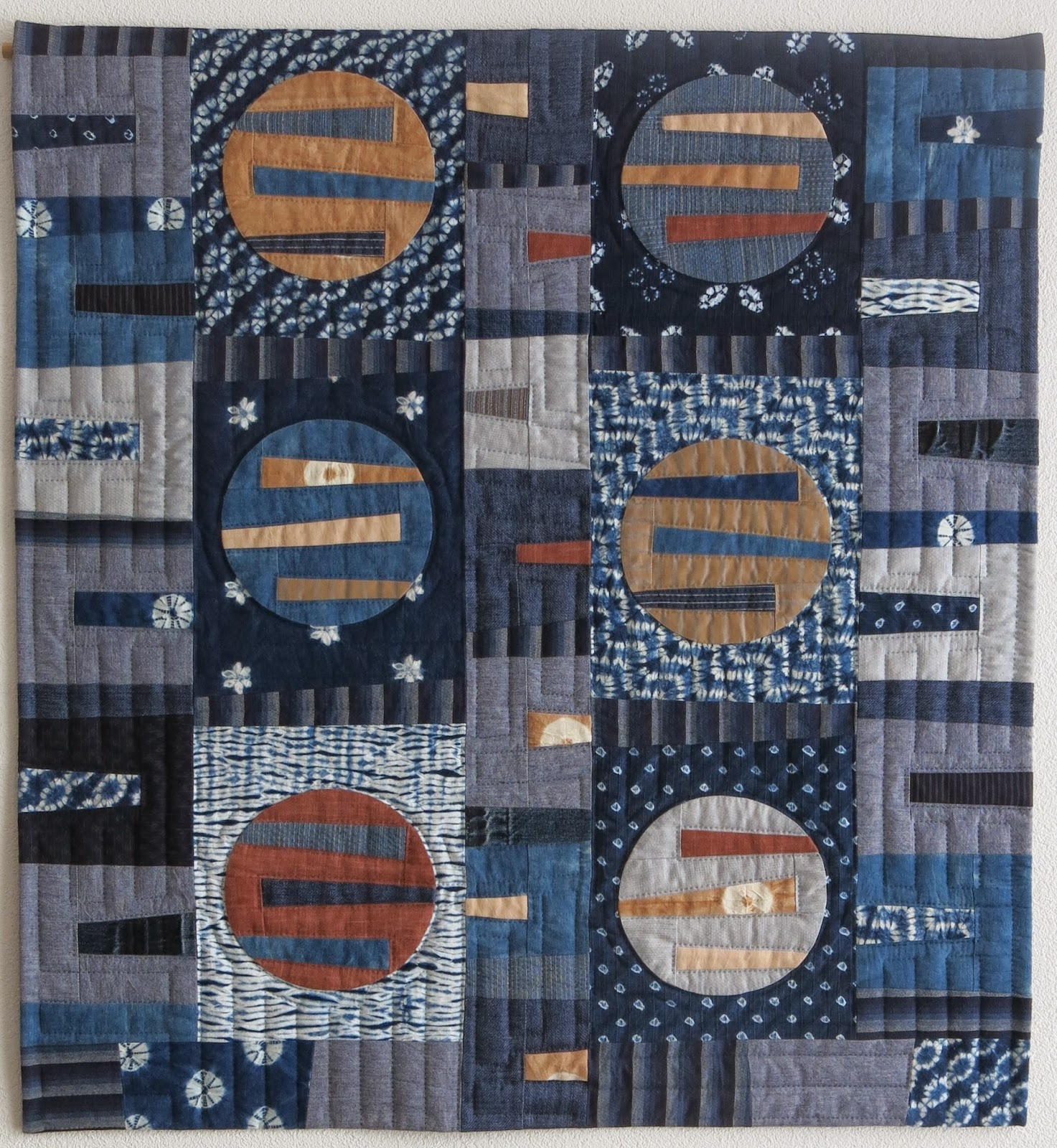 Quiltmania Competition - Indigo Variations