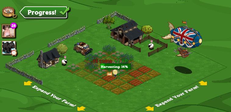 cash earned farmville