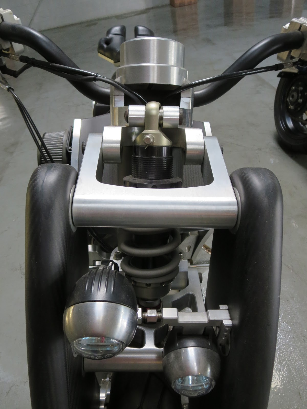Confederate Wraith B120 Front Suspension