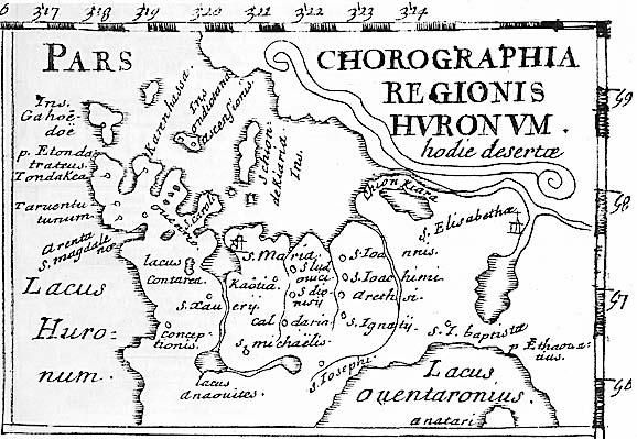 Huronia 1660