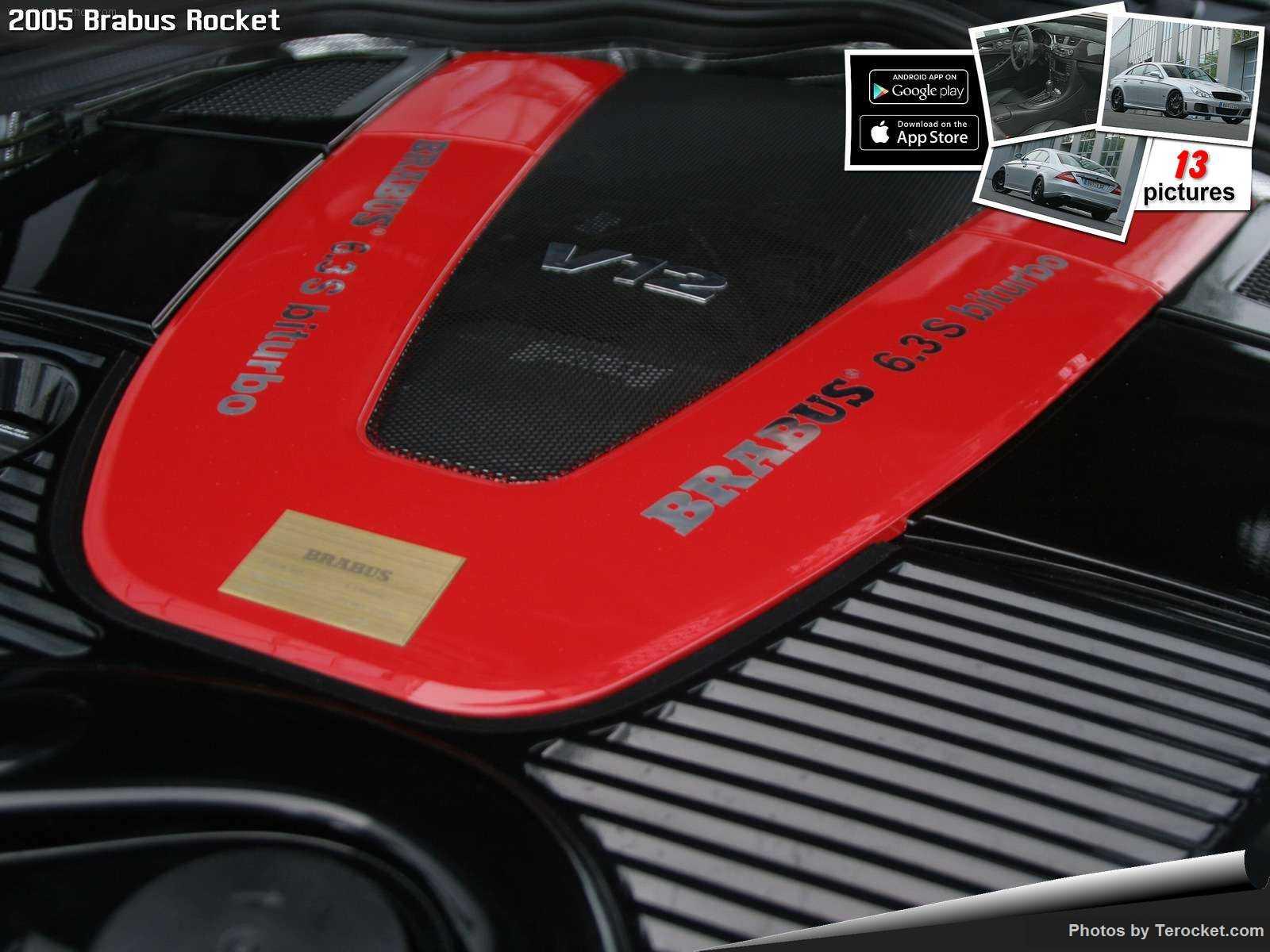 Hình ảnh xe ô tô Brabus Rocket 2005 & nội ngoại thất