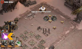 Screenshots of the The Horus heresy: Drop assault for Android tablet, phone.