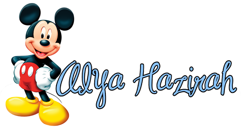 Alya ♥ Mickey Mouse