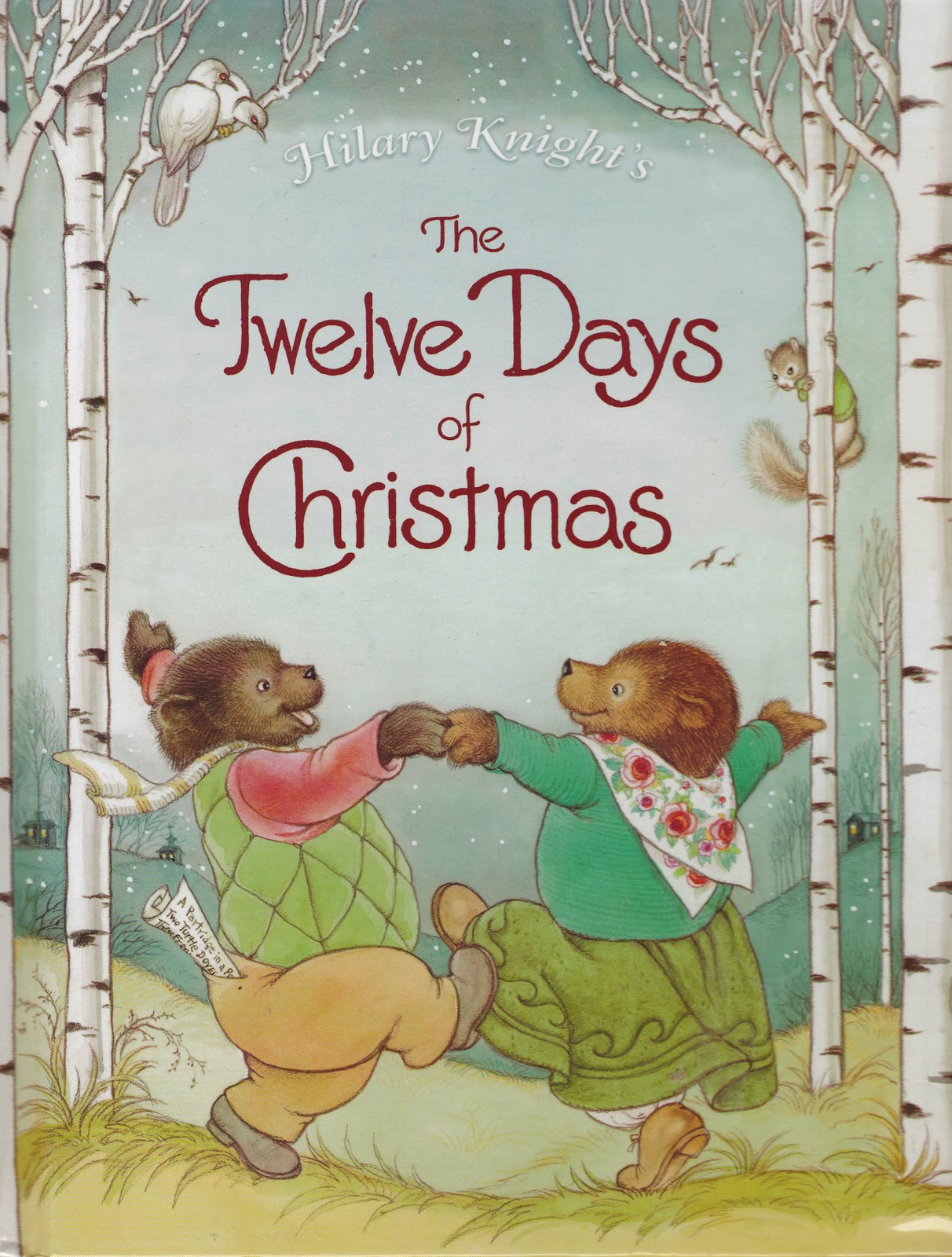 this is such a fun book the kids and i are consistently mesmerized by hilary knights illustrations and his version of the twelve days of christmas c - 12 Days Of Christmas Book