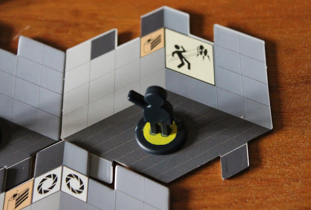Portal board game - activating a test chamber
