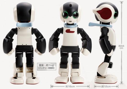 Robot Humanoide 2012 un Robot Humanóide Por