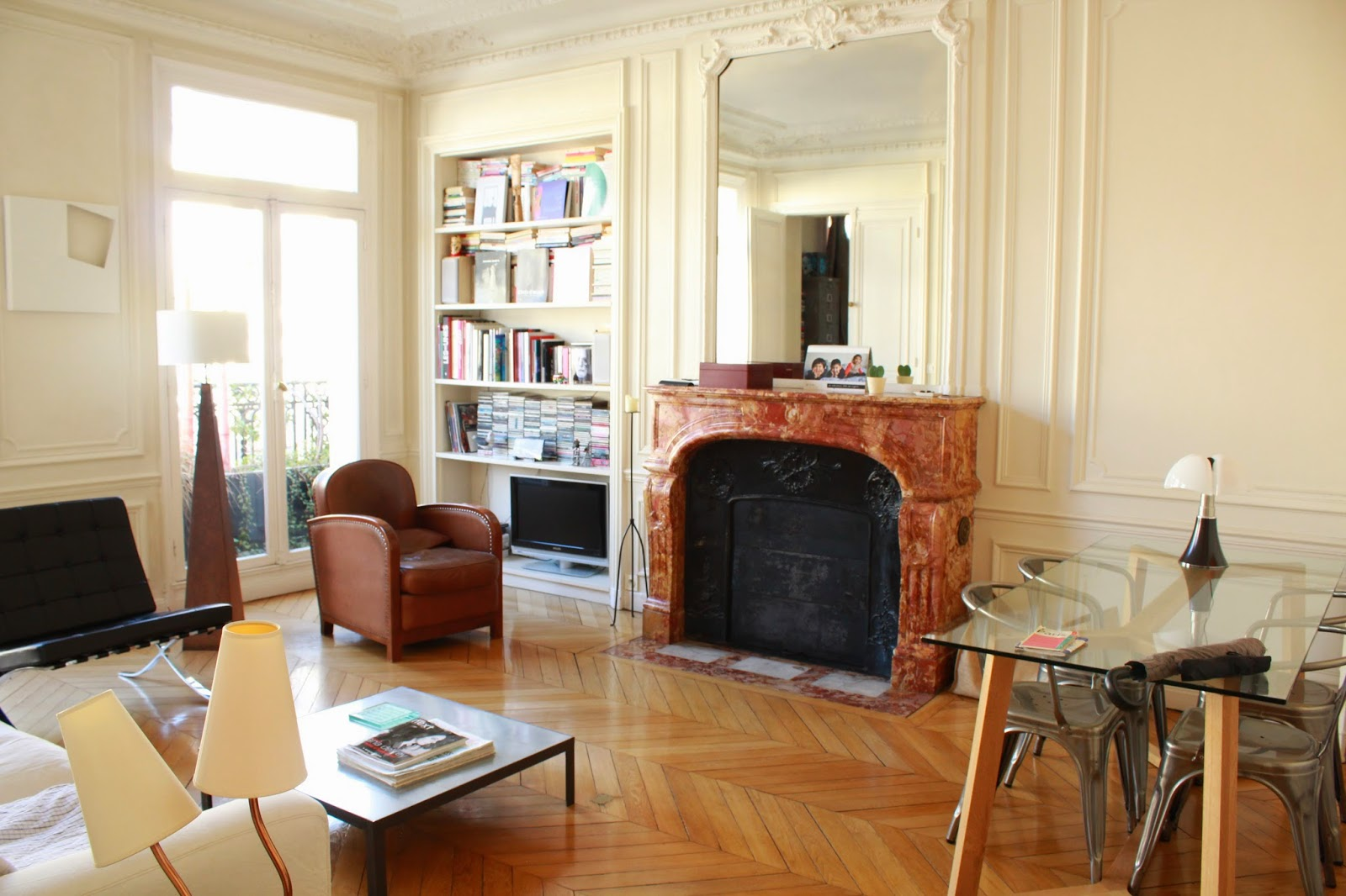a bright and beautiful apartment in Paris, France.