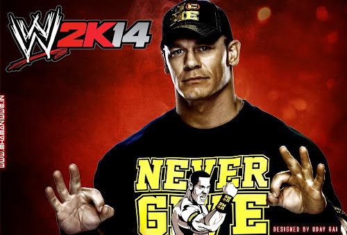 "Wallpaper » WWE ""2K14"" HQ Wallpaper (feat John Cena) [Designed By Uday Rai via iPOST]"